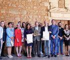 Prieto felicita a Villanueva de la Jara y Pradejón por su hermanamiento en torno al champiñón y sus muchas posibilidades
