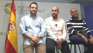 """Sergio Sánchez """"Paco Núñez dará protagonismo a los jóvenes y velará por los intereses de la provincia de Guadalajara"""""""