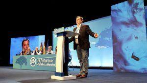 Serrano afirma que el Partido Popular seguirá encadenando victorias, progreso y esperanzas con Paco Núñez al frente