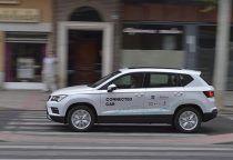 Telefónica, Seat y Ericsson presentan en Talavera el primer caso de uso de conducción asistida de un vehículo particular en Castilla-La Mancha