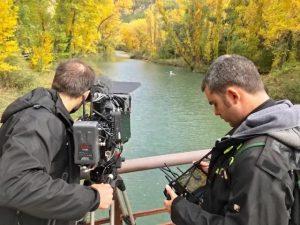 Termina el rodaje sobre Cuenca para la serie 'Ciudades Españolas Patrimonio de la Humanidad' producida por RTVE