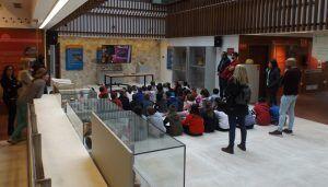 Un grupo del CRA Serranía de Atienza visita la Posada del Cordón