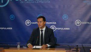 """Velázquez denuncia """"el profundo deterioro que el Gobierno de Page y Podemos ha provocado en la sanidad regional"""""""