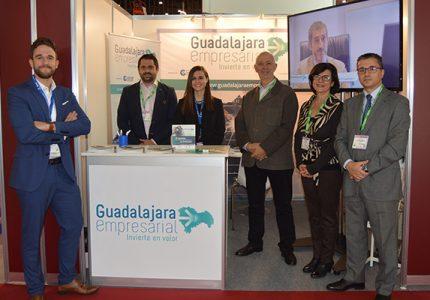 """Guadalajara Empresarial"" promociona en la Feria Logistics&Distribution las ventajas empresariales de la provincia"