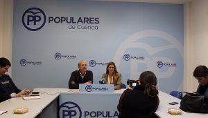 """Agudo """"Si Page permite que Sánchez se olvide de Cuenca y no se construya el ATC estará dando de nuevo la espalda a los vecinos de la provincia"""""""