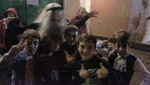 Animadísima velada de Halloween en el Centro Joven de Cabanillas y el Frontón Municipal