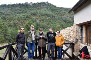 Ayuntamiento de Cuenca y empresa adjudicataria firman la recepción del Albergue de Tejadillos