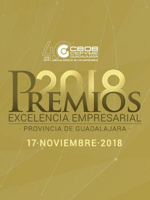 Premios CEOE Guadalajara 2018