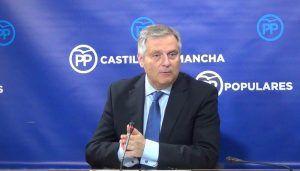 Cañizares denuncia que, con Page, Castilla-La Mancha ha reducido a la mitad el crecimiento económico y la creación de empleo