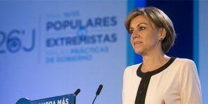 Cospedal dimite de la dirección del PP por las conversaciones mantenidas con el ex comisario Villarejo
