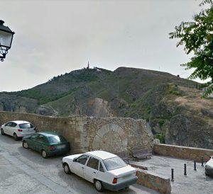 Cs Cuenca propone el acondicionamiento de un mirador en el solar que ocupaba el antiguo matadero municipal