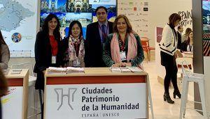 Cuenca se promociona en la Feria Mundial de Turismo de Londres con Ciudades Patrimonio