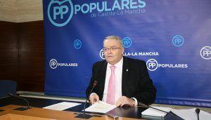 """De las Heras denuncia que el Gobierno de Page y Podemos están llevando a Castilla-La Mancha al """"abismo económico y financiero"""""""