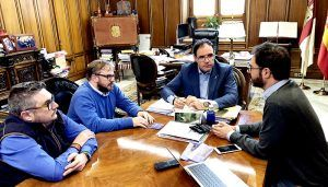 Diputación de Cuenca colaborará en la restauración de la clámide de la imagen de Nuestro Padre Jesús con la Caña