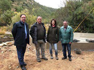 Diputación de Cuenca garantiza el abastecimiento de agua a Villalba de la Sierra con la remodelación integral de su depósito