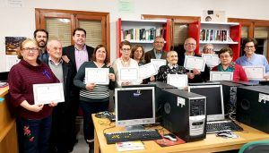 Diputación de Cuenca sigue apostando por formar a nuestros mayores en TICs con el desarrollo de 17 cursos en 16 municipios