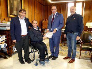 Diputación y Ayuntamiento aúnan esfuerzos para traer a Cuenca el mejor baloncesto nacional en sillas de ruedas