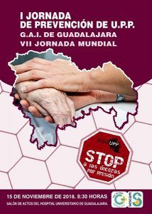 El Área Integrada de Guadalajara acogerá este jueves la I Jornada de Prevención de las Úlceras por Presión