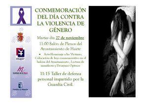 El Ayuntamiento de Huete conmemora el Día Internacional Contra la Violencia de Género