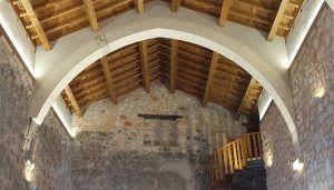 El Castillo de la Peña Bermeja, una trágica leyenda y un cementerio en su patio, escenario perfecto para un puente cargado de misterio