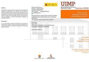 El cine se hace hueco en UIMP Cuenca con el curso 'Rodando con croma y componiendo con VFX'