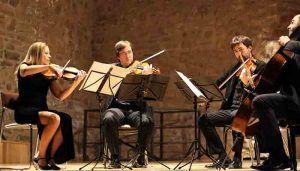 El cuarteto de cuerda Leonor clausura el XIII Festival de Música de Cámara de Sigüenza