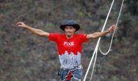 El joven canario Kevin Vega cruzará la Hoz del Huécar caminando por una cuerda floja