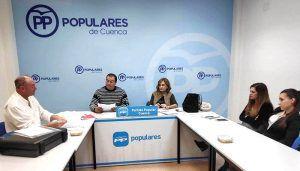 El PP de Cuenca se reúne con representantes de la Asociación de Circos Reunidos y de dos protectoras de animales