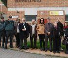 El subdelegado del Gobierno de Guadalajara visita el cuartel de la Guardia Civil de Humanes