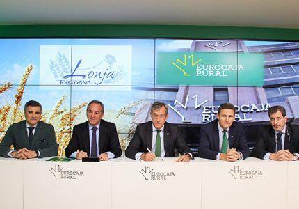 Eurocaja Rural renueva su colaboración con la Lonja de Fedeto