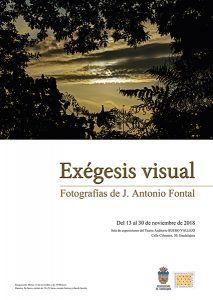 """Exposición fotográfica """"Exégesis Visual"""", de José Antonio Fontal, en el Buero Vallejo"""