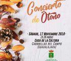 Fin de semana musical en Cabanillas, con la Banda Provincial el sábado 17, y un concierto de violines el domingo 18