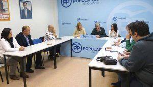 """Fogarty """"Todas las sugerencias recogidas en las Mesas de Trabajo serán parte fundamental del Programa Electoral del PP"""""""