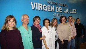 """Ginecólogos, pediatras, matronas y enfermeras del """"Virgen de la Luz"""" elaboran un protocolo de cuidados paliativos perinatales"""