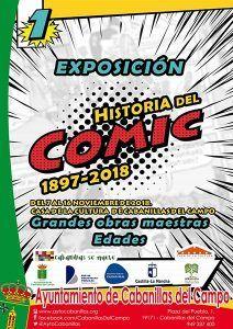 Hasta el 16 de noviembre, exposición sobre la Historia del Cómic, en la Casa de la Cultura de Cabanillas