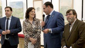 Isabel Castellanos muestra en una exposición en Diputación de Cuenca sus casi veinte años dedicados a la pintura