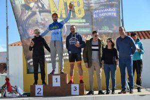 José Pérez y Raquel Ramiro se imponen en Ledaña en la última prueba del XI Circuito de MTB Diputación de Cuenca