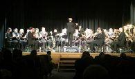 La Banda de la Diputación ofreció un animado concierto en Cabanillas