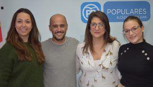 La conquense Andrea Moreno, se incorpora al Comité de Dirección de NNGG, como portavoz regional