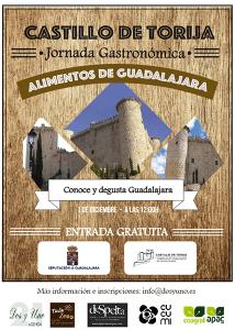 La Diputación de Guadalajara organiza una Jornada Gastronómica este sábado en el Castillo de Torija