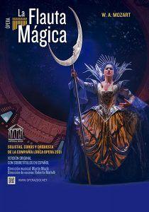 La flauta mágica de Mozart el sábado, 10 de noviembre, en el Buero Vallejo