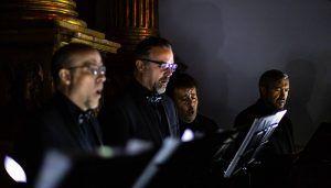 La música y la pintura narran La Pasión en  'El Último Renacentista' del Coro de Cámara Alonso Lobo