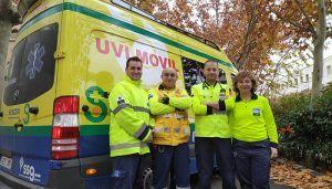 La UVI móvil de Guadalajara, premiada en las X Jornadas de Casos Clínicos de Urgencias y Emergencias Madrid-Castilla-La Mancha