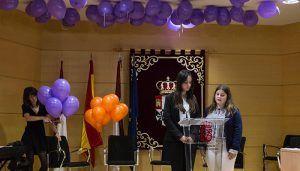Las universitarias de la UCLM protagonizan el acto contra la Violencia de Género de la Subdelegación del Gobierno de Cuenca y el Vicerrectorado