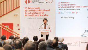 Magdalena Valerio hace un llamamiento a los jóvenes para atraerles al sector de la construcción