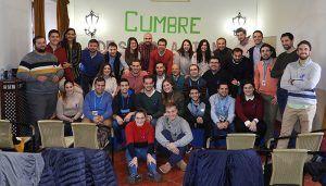 Maroto participa en la clausura de la I Cumbre de Despoblación de NNGG Guadalajara
