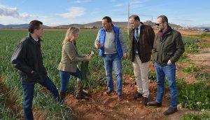 """Merino denuncia el """"abandono absoluto y mala gestión de los recursos del campo de Page"""" y asegura que para el PP de Castilla-La Mancha agricultores y ganaderos serán una prioridad"""