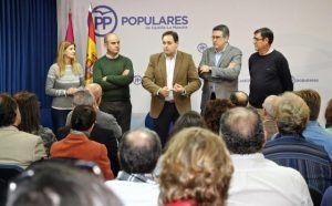 Núñez resalta que las Mesas de Trabajo de la formación servirán para que los afiliados puedan construir el discurso del PP-CLM