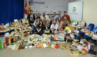 NNGG Castilla-La Mancha recoge 10.170 libros para ayudar a la Biblioteca Pública de Cebolla