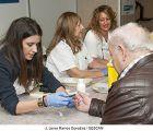 Profesionales de la sección de Endocrinología y miembros de la Asociación de Diabéticos de Guadalajara informan sobre la diabetes, su tratamiento y prevención
